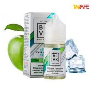 سالت سیب یخ بی ال وی کی | BLVK Salt Plus Sour apple Ice