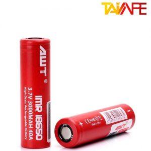 باتری ای دبلیو تی سایز 18650 AWT 18650 3000mAh Battery